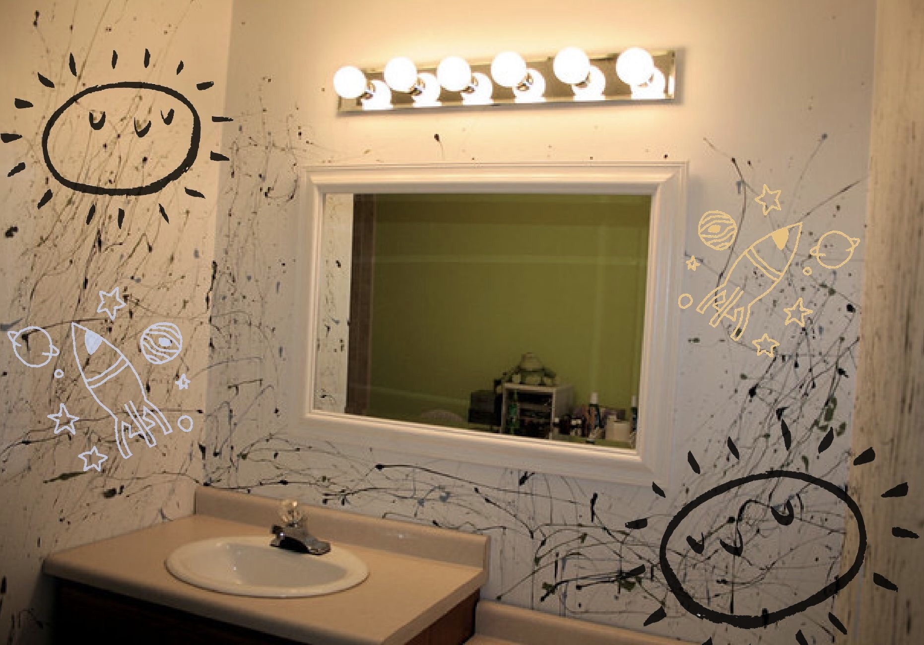 Digital Nocturne Hailed by Studio Art Majors, Criticized by Parents with Newly Fingerpainted Bathrooms